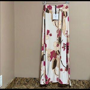 Agnes and Dora wrap maxi skirt
